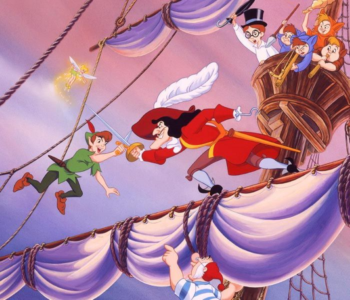 102 best images about peter pan on pinterest tiger lilies hooks and peter pan pictures - Image de peter pan ...