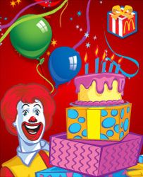 McDonald's parties