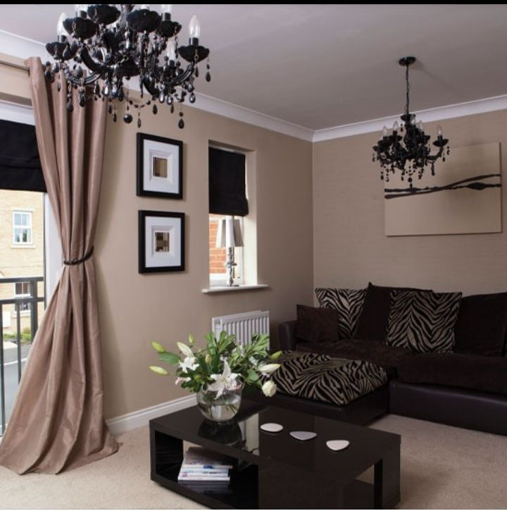 Living Room Paint Ideas With Brown Furniture 56