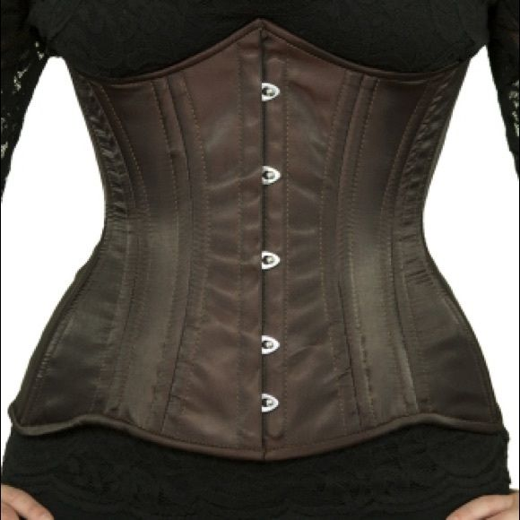Steel-Boned Longline Underbust Satin Corset This original underbust corset design by Orchard Corset has extreme curves to flatter and shape, and has the steel bones needed for serious waist training.. The corset is completely lined in 100% cotton which provides extra durability and support, and protects the exterior fabric. Brand new corset from Orchard Corset, probably have the best corsets out there this is why it's expensive. I uploaded a picture of how the sizing works. The corset is 34…