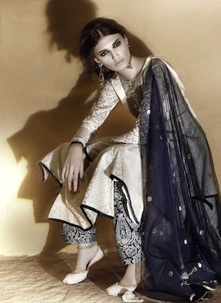 I'm thinkin she is the only one who can pull off this outfit. Payal Singhal Lakme Fashion Week Spring Resort 2013