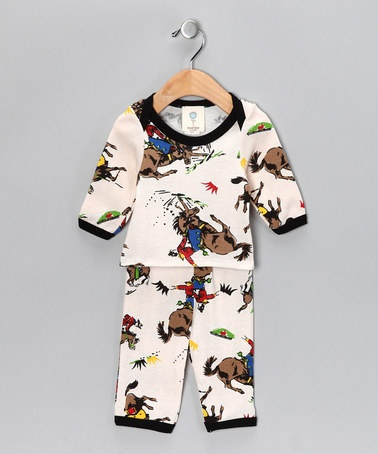 I wish this came in toddler sizes, my Punky would love cowboy pj's like these! by Mad Boy on #zulily