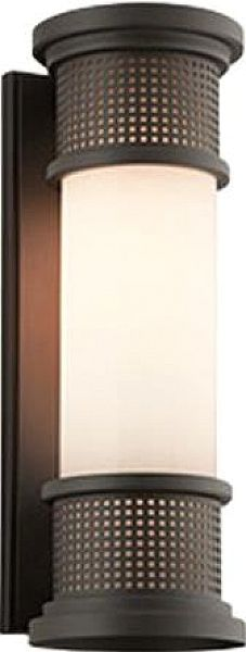 Mcqueen - Outdoor LED Outdoor Wall Sconce - Large - 6.5 - Bronze Finish