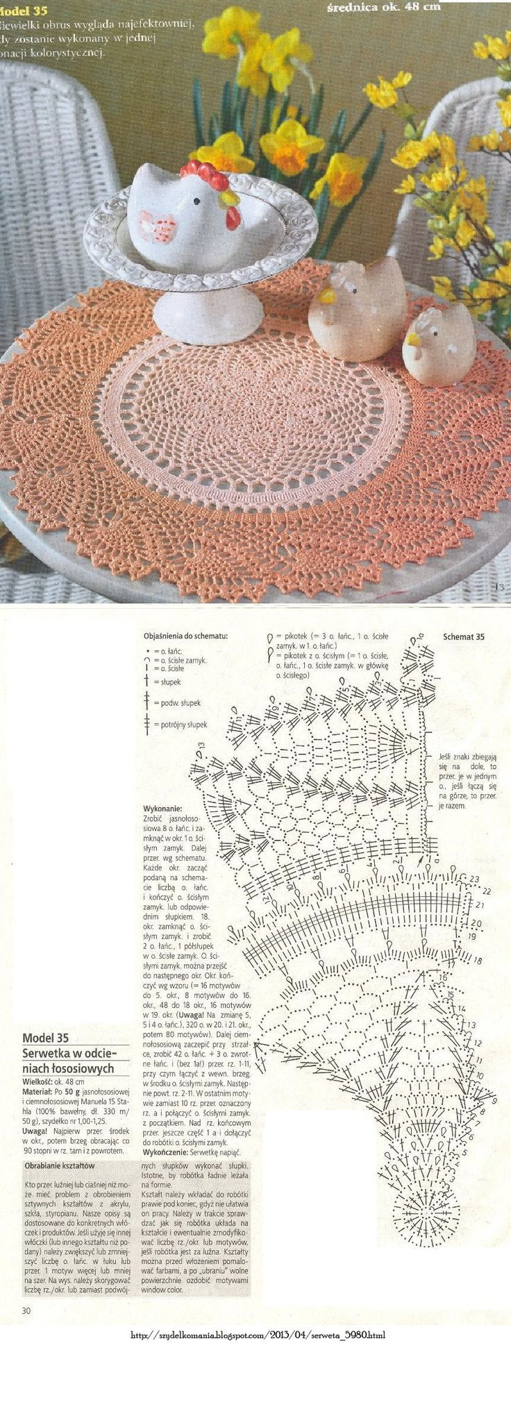 95 best Crochet Doilies-Table Toppers & Thread Motifs images on ...