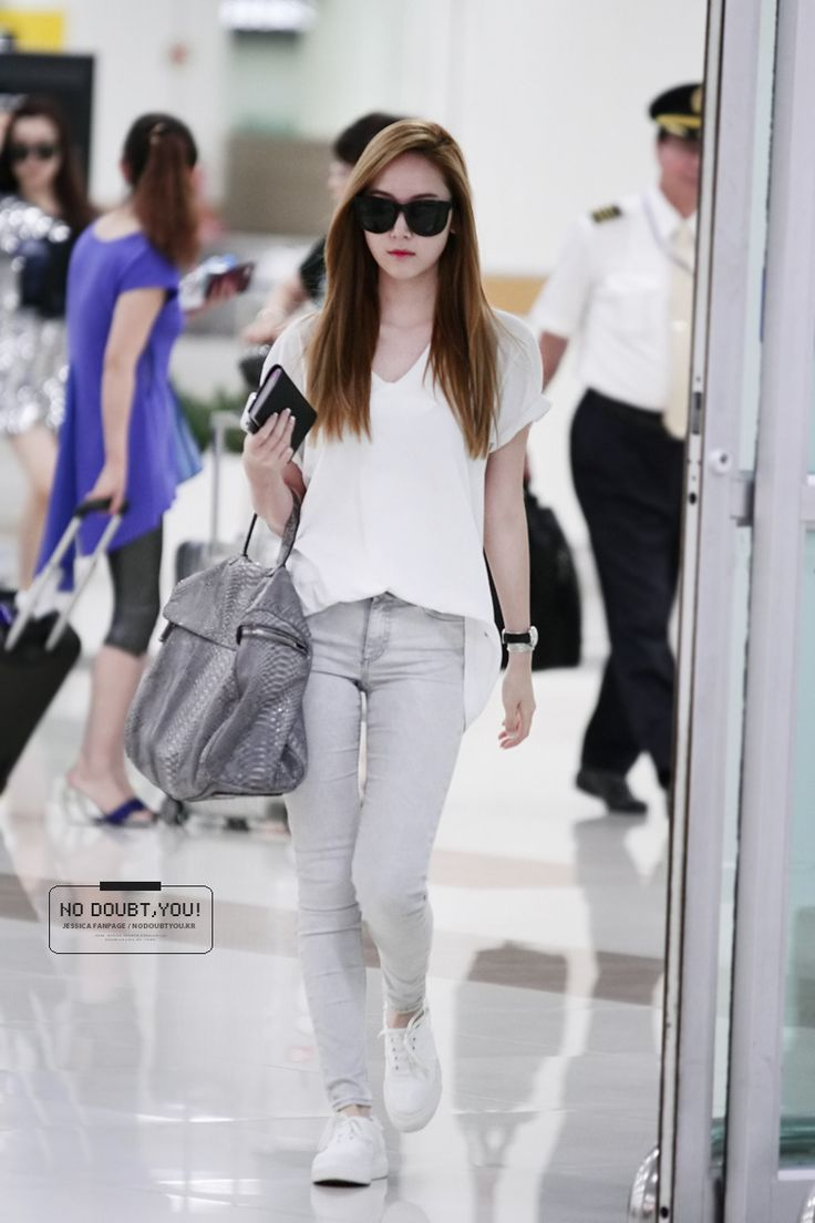 17 Best Images About Snsd Jessica 39 S Airport Fashion On Pinterest Incheon Airport Style And
