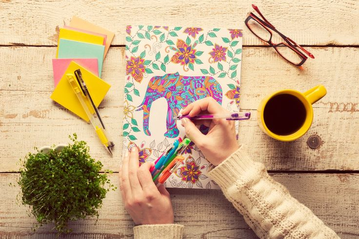9 Adult Coloring Books For Your Inner Stress Free Child