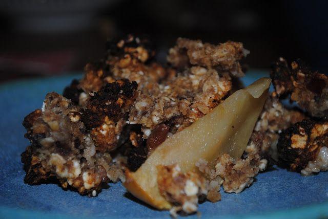 MollyRose'n'Honey: Æblekage med sukkerfri mandel-havregryns smuldrede...