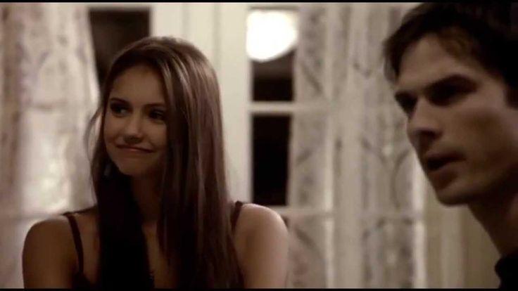 diarios de vampiros 1x3 damon le cuenta de katherine a elena latino