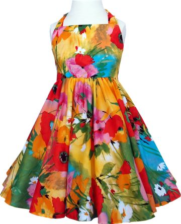 soft cotton voile dress by Little Beky from Australia