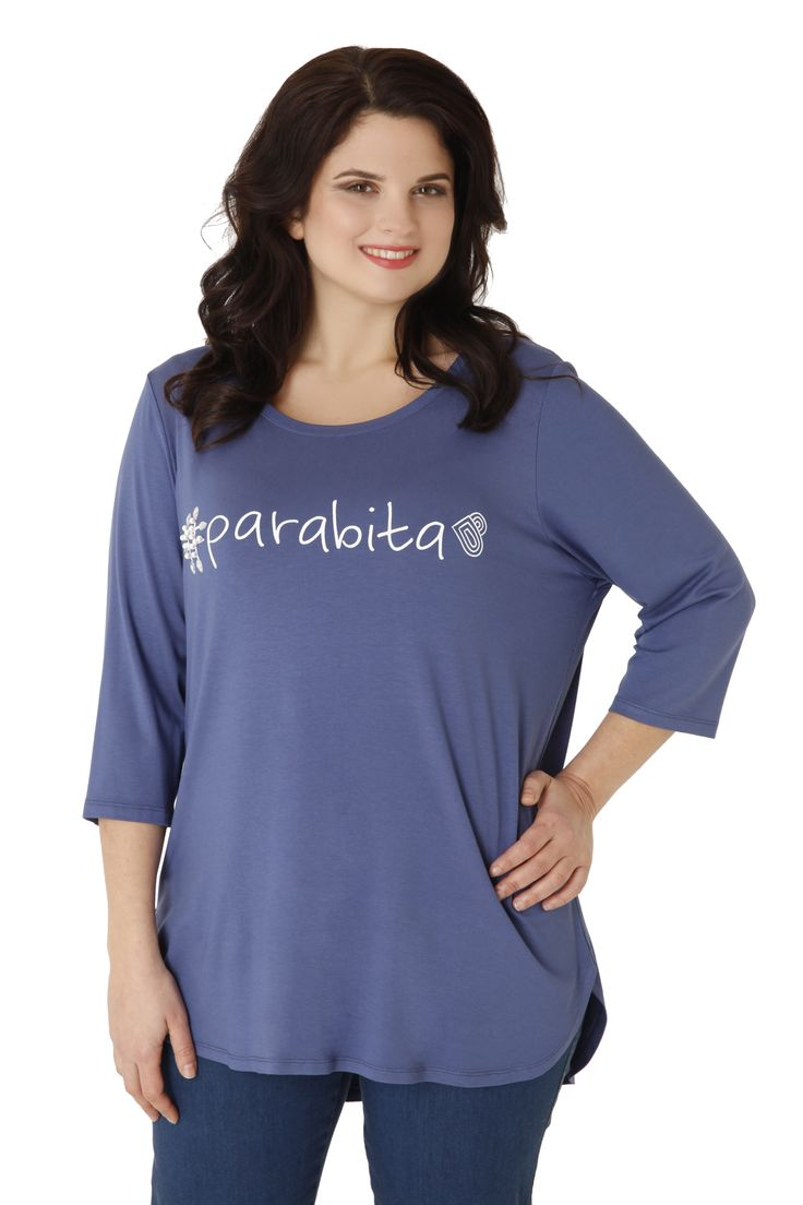 Viscose Parabita top, embroidered with small stones. Wear the new brand! Available in 4 colours!