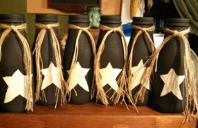 Crafts With Glass Bottles Pinterest