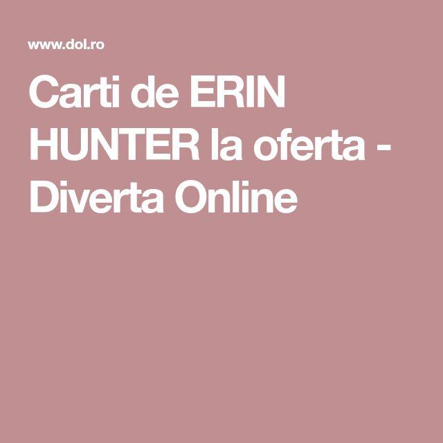 Carti de ERIN HUNTER la oferta - Diverta Online
