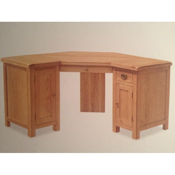 Corner Desk Zelah Oak Corner Desk Roseland Furniture