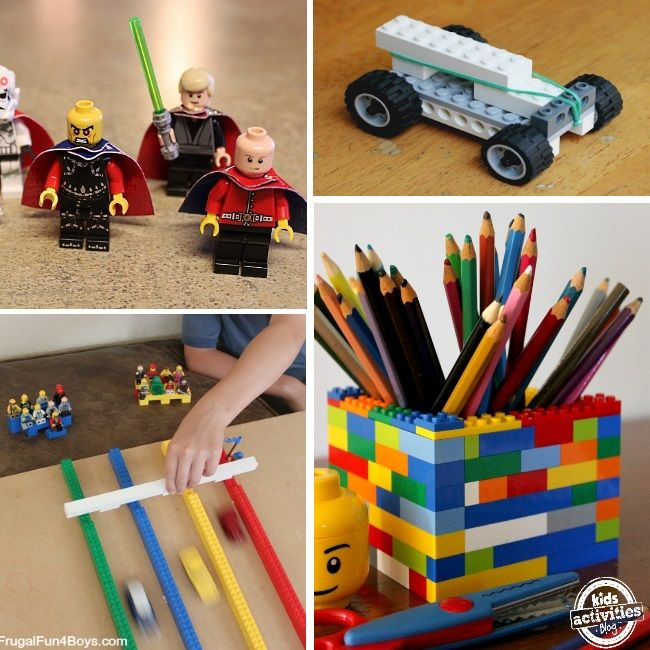 LEGOS: 75  Ideas, Tips and Hacks, Pencil Holder for Homework table & more