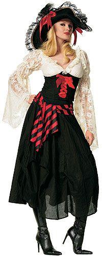 Sexy Plus Size Pirate Costume