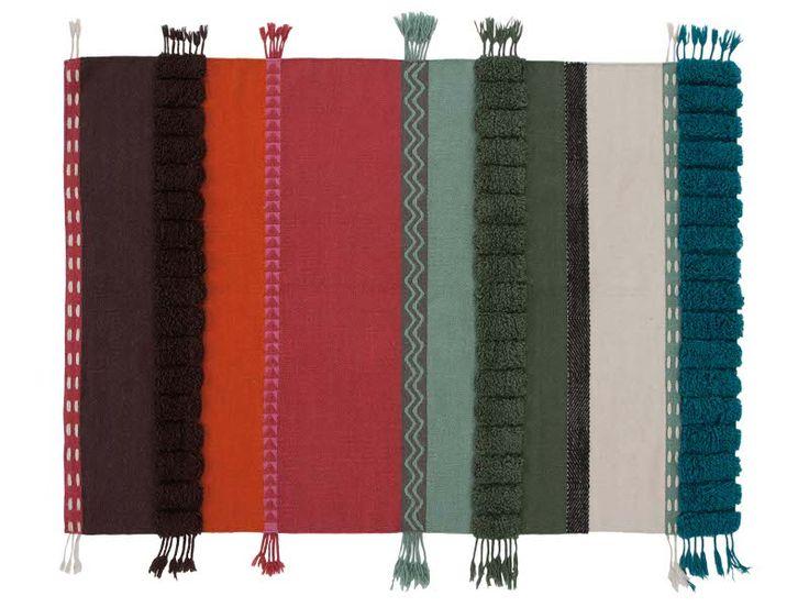 Tappeto a righe in lana ALEXANDRA - GAN By Gandia Blasco
