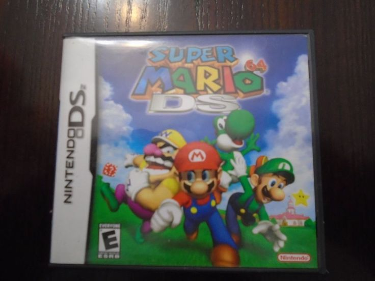 Nintendo DS Super Mario 64 DS complete box, booklet, game Bilingual tested