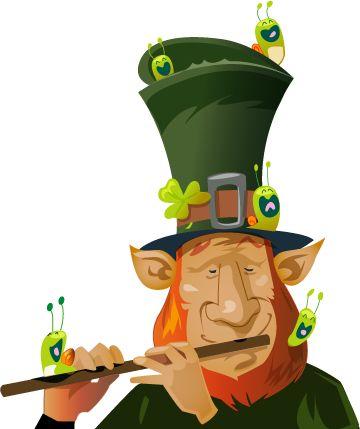 Passez au vert, c'est la Saint Patrick ! - Comme nous les escargots, les Irlandais adorent le trèfle, mais pas pour le manger. C'est l'emblème de la Saint Patrick, une fête célébrée le 17 mars à travers le monde par les Irlandais.