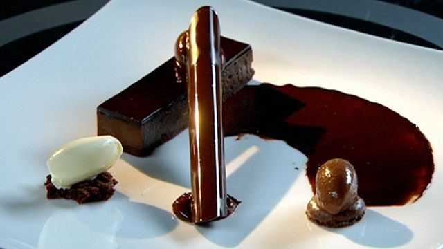 Aria's Chocolate Tart by Matt Moran. Are you up for the challenge?