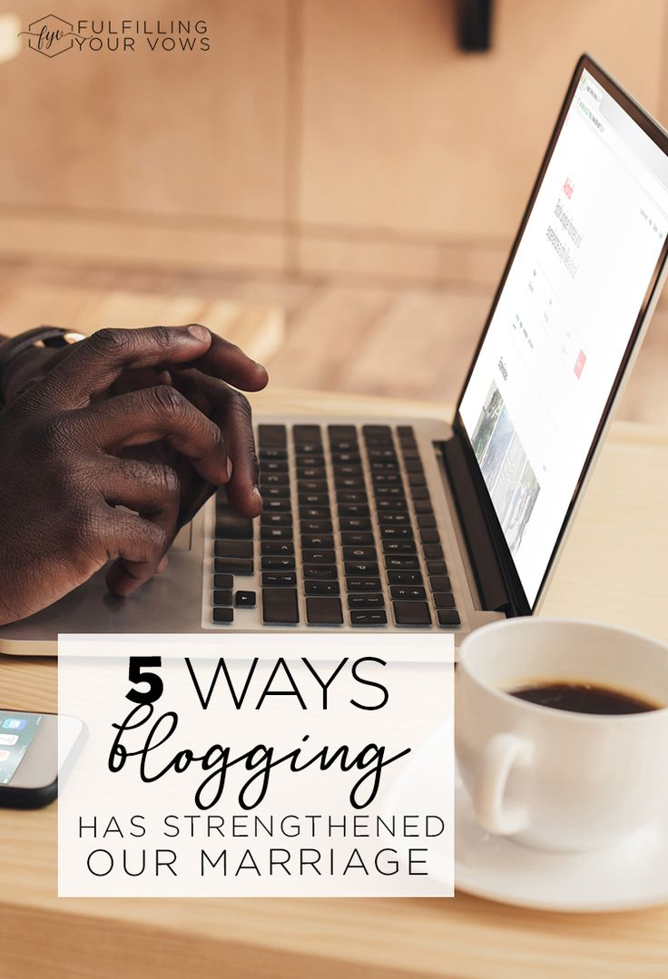 Building a blogging business as husband and wife has been a huge blessing to our marriage. Come see 5 Ways Blogging Has Strengthened Our Marriage! via @carliekercheval