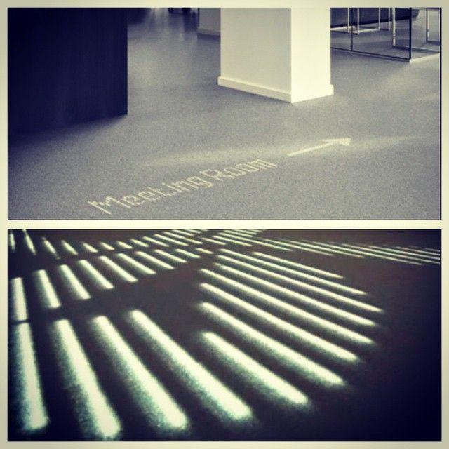 Desso & Philips LED carpet-endless uses!