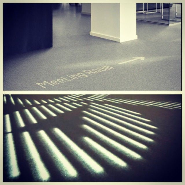 Desso & Philips LED carpet-endless uses!