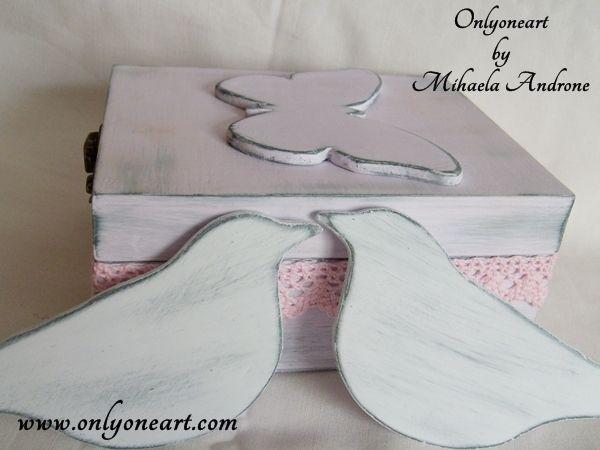 Onlyoneart by Mihaela Androne | Shabby lovebirds - pasarele indragostite - Onlyoneart by Mihaela Androne
