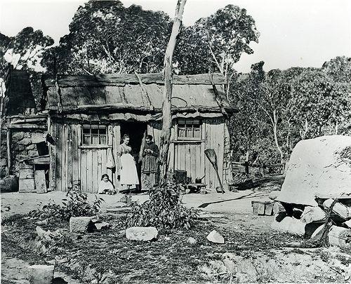 Miner's Hut, Lithgow Valley NSW, c1880