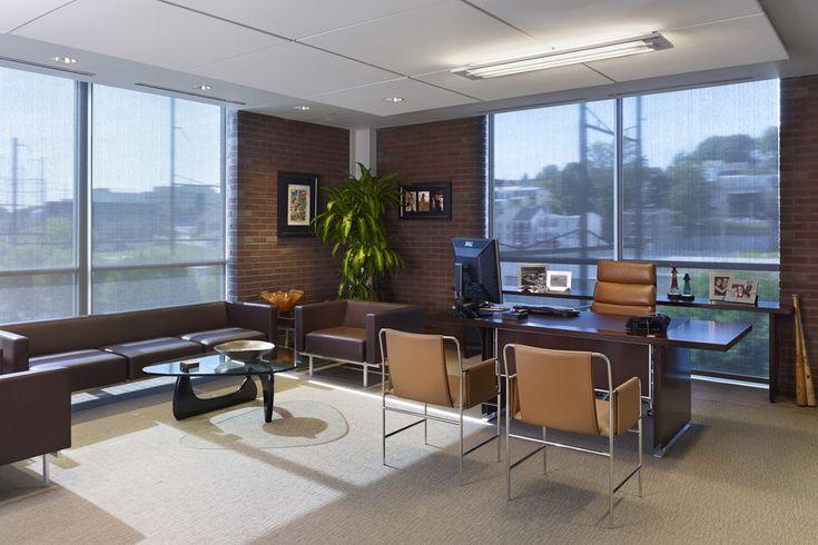 17 best images about mid century modern office on pinterest modern desk furniture and mid. Black Bedroom Furniture Sets. Home Design Ideas