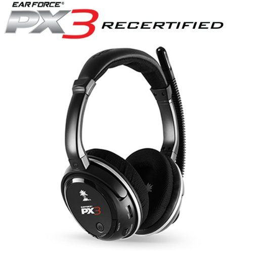 FarCry 5 Gamer  #Turtle #Beach #Ear #Force #PX3 #Programmable #Wireless #Gaming #Headset (Certified Refurbished)   Price:     The #Ear #Force #PX3 #headset lets you dominate your competition with digital signal processing, #wireless game sound, crystal-clear communication and the convenience of a rechargeable battery. Featuring a lightweight, circumaural #ear cup design with massive 50mm speakers, the #PX3 delivers exceptional audio quality and maximum comfort.While designed