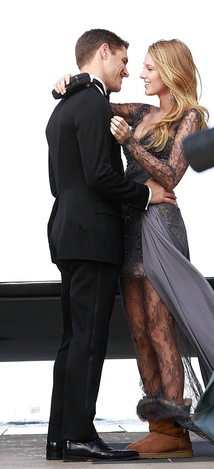 Pin for Later: 40 Times You Totally Wished You Were Blake Lively When She Shared a Kiss With Sam Page