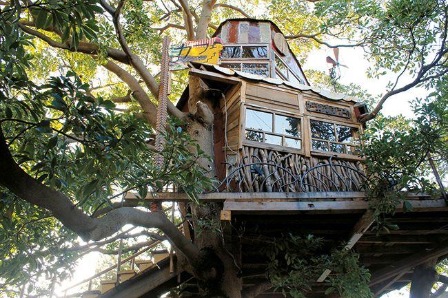Nanjya Monjya  Regress to childhood at this treetop café—plus other quirky cafés