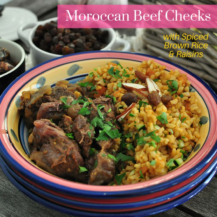 We're taking you to Morocco with our Moroccan Beef Cheeks with Spiced Brown Rice & Raisins. Oh so delicious, we followed a friend's recipe who has recently visited the north of Africa on a food journey, the flavours in this meal will blow your mind away for sure!  TIP: This meal must be warmed up! Pre-heat oven to 180c and place the whole tray (with lid on as it is oven proof and BPA free) for 10-15min. Or pop it in the microwave 2-3 min and enjoy!