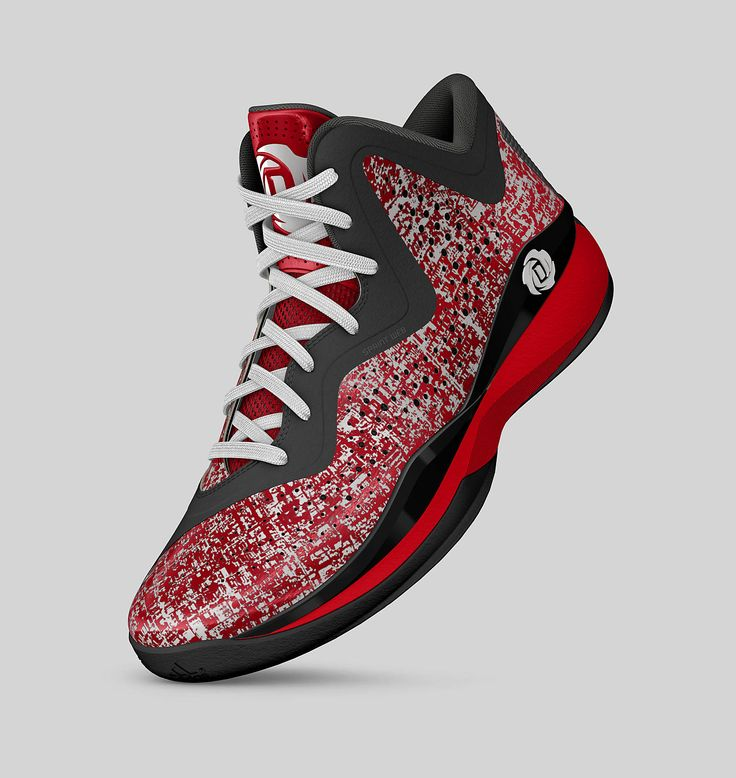 Adidas D Rose 773 (Scarlet/Running White/Black)