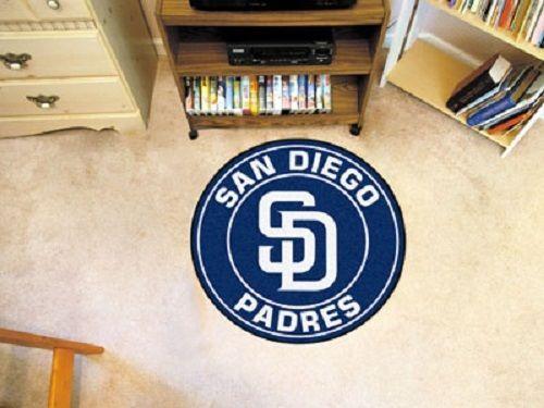 San-Diego-Padres-29-Round-Baseball-Mat-Rug