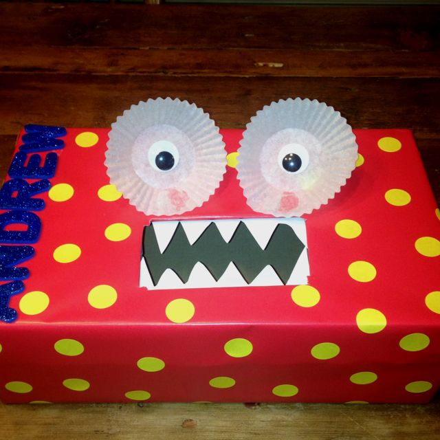 Boy Valentine Box