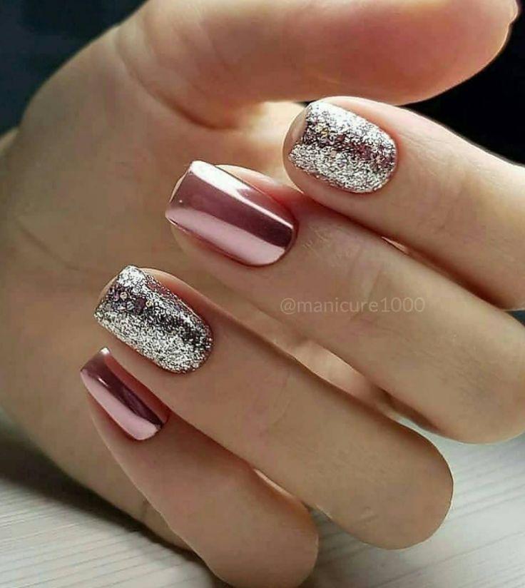 50 Cute Short Acrylic Square Nails Design And Nail Color Ideas For Summer Nails - Fashionsum Blog