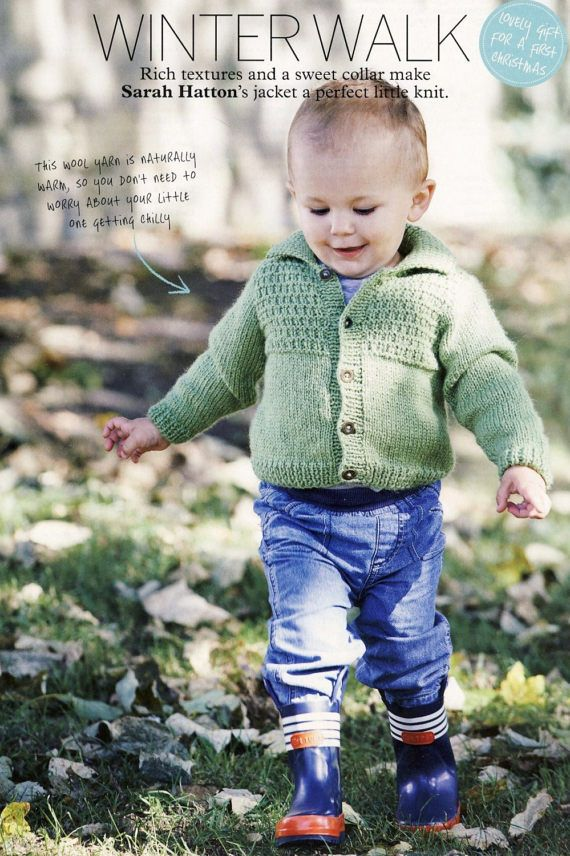ROWAN Jacket Knitting Pattern. Knitted Unisex Cardigan pattern, to buy at PatternaliaVintage