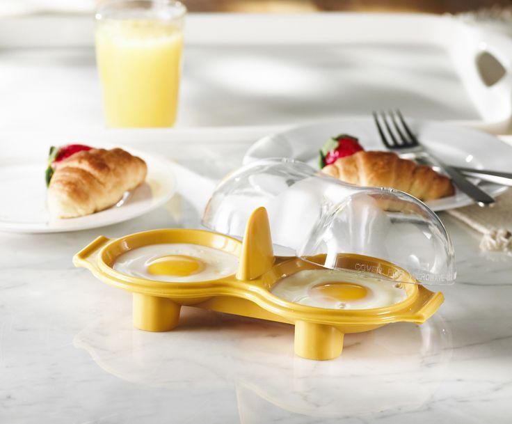 http://www.thekitchenette.fr/ustensiles-de-cuisine-m/Pocheuses-%C3%A0-oeuf/Pocheuse-%C3%A0-%C5%93uf-double-en-silicone-5050721--Trudeau/450 La pocheuse à œuf double en silicone Trudeau. Elle vous permet de réussir vos œufs pochés en quelques minutes au micro-ondes #œuf #pocheuse #pocher #cuisine #trudeau