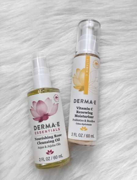 Blogger Keeping up with COCO,  wrote a great product review on our Nourishing Rose Cleansing Oil and Vitamin C Renewing Moisturizer!  #dermae  http://www.kuwcoco.com/2017/04/derma-e.html