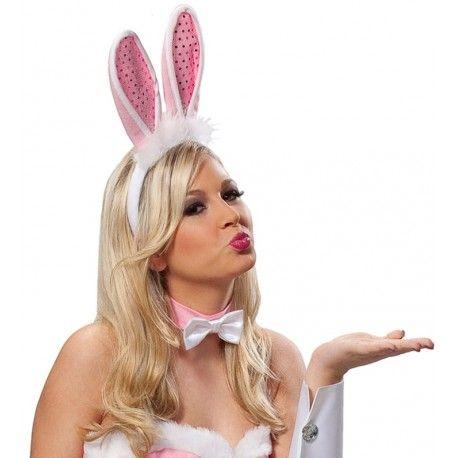 Serre-tête oreilles de lapin adulte