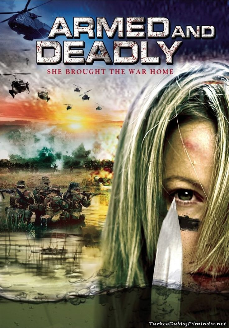 Silahli ve Olumcul - Armed and Deadly - 2011 - BRRip Film Afis Movie Poster