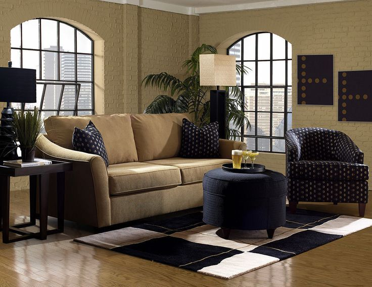 Klaussner Living Room Linville Sofa K80400 S