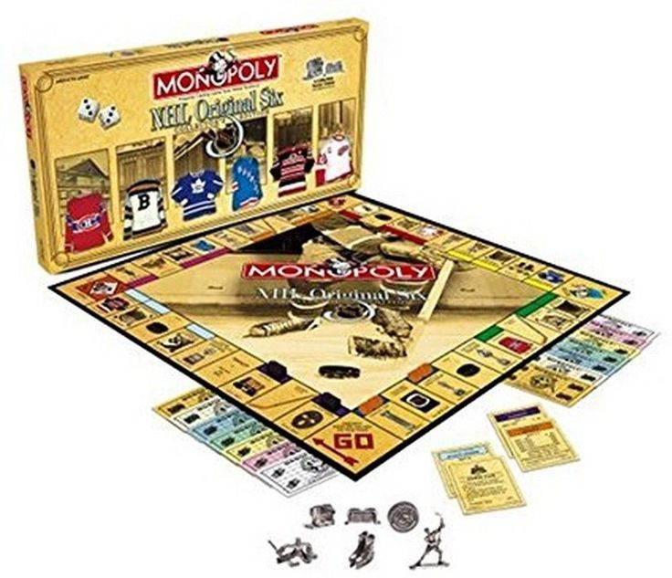 Game Pieces Parts 7317: Factory Sealed Usaopoly Usaopoly Hockey Original Six Revised Monopoly -> BUY IT NOW ONLY: $149.99 on eBay!