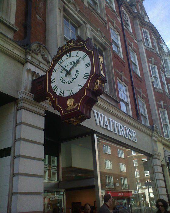 Waitrose grocery  98-101 Marylebone High Street London W1U 4SD United Kingdom   Marylebone