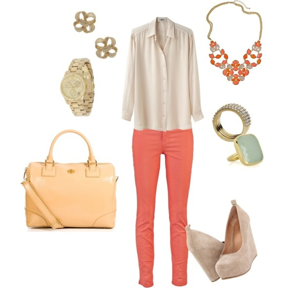 smooth colours: Summer Spring Style, Spring Coordinates, Dream Style, Purse, Spring Colors, Spring Look Love, Polyvore, Color Palette, Spring Look Repin