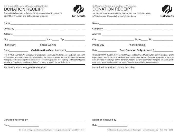 Explore our printable church donation receipt template in