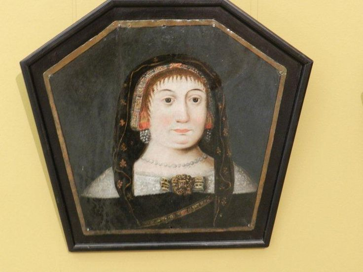 portret trumienny Bukowiecka Katarzyna h. Ogończyk zm. ok.1677 / żona Stanisława Błociszewskiego h. Ostoja, właściciela wsi Mnichy, Tucząpy i Miłostowo.