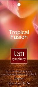 Сыворотка для загара лица и декольте с эффектом разглаживания морщин Tan Symphony фаза 3+, 20 саше по 20 мл