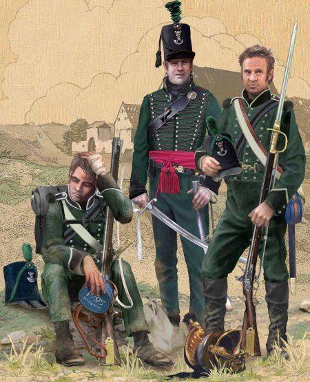 95th Rifles, Waterloo, 1815. ----http://qebedo.livejournal.com/74839.html